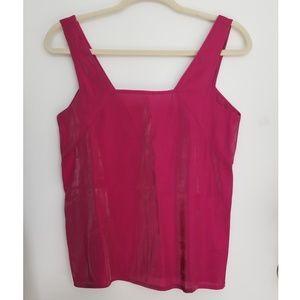NWOT Zara Hot Pink Tank, XS